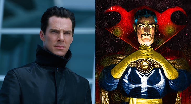 8 Comic Book Characters We Cannot Wait to See on the Big Screen Dr Strange Benedict Cumberbatch