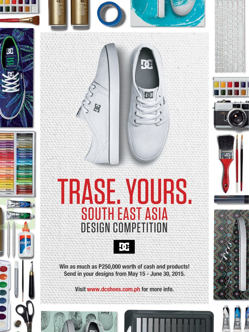 FA DC Shoes Global Contest TRASE YOURS POSTER