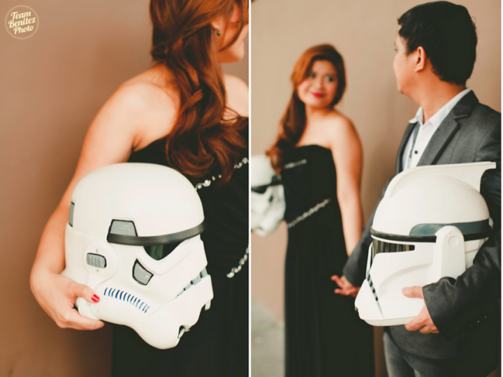 Engaged couple's Star Wars shoot 5