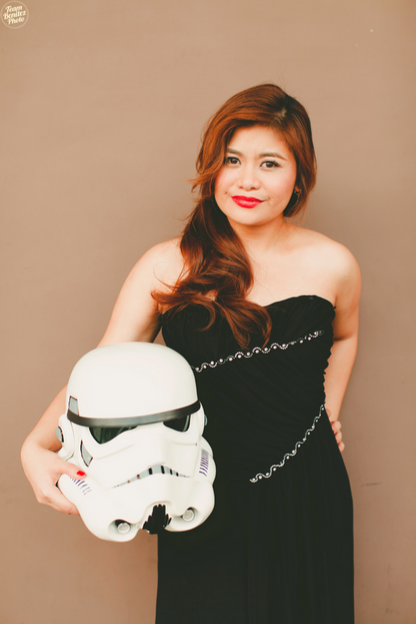 Engaged couple's Star Wars shoot 8