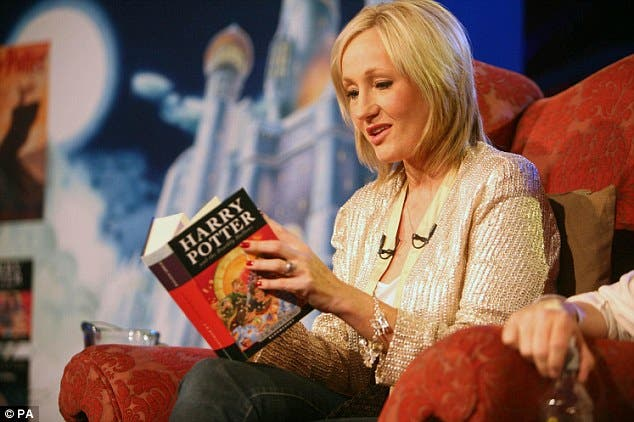 JK Rowling Single Mother