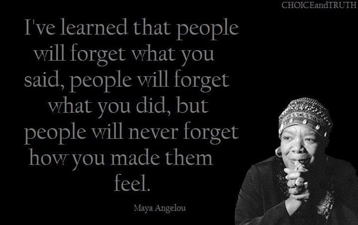 Maya Angelou Single Mother