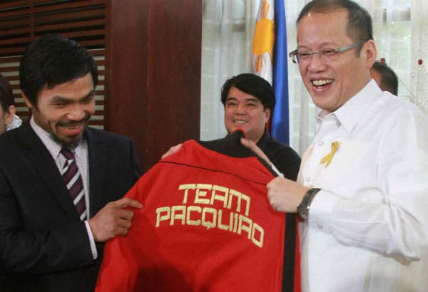 PNoy Urges Pacquiao to Retire
