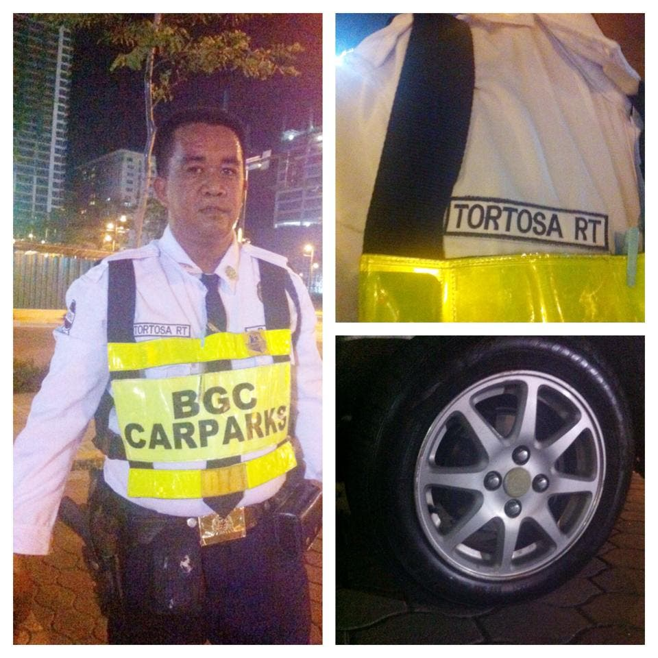 Security Guard in BGC