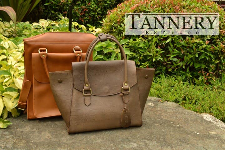 The Tannery Manila Leather Bags