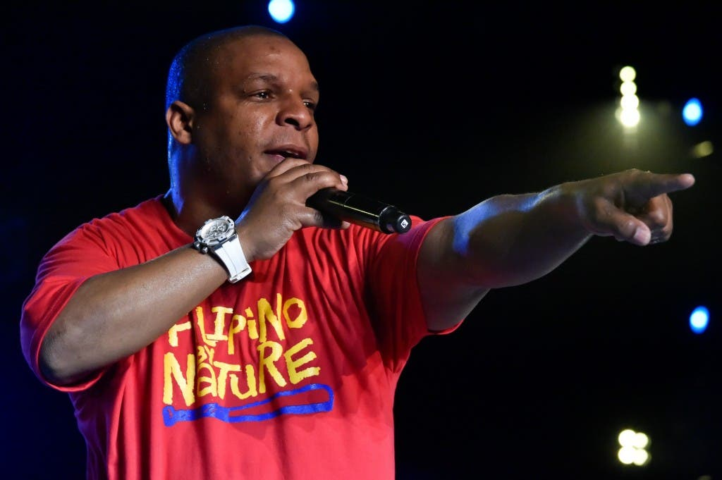 Vin Rock of Naughty by Nature performing at MTV Music Evolution 2015 on 17 May Pic 2 (Credit - MTV Asia & Kristian Dowling)