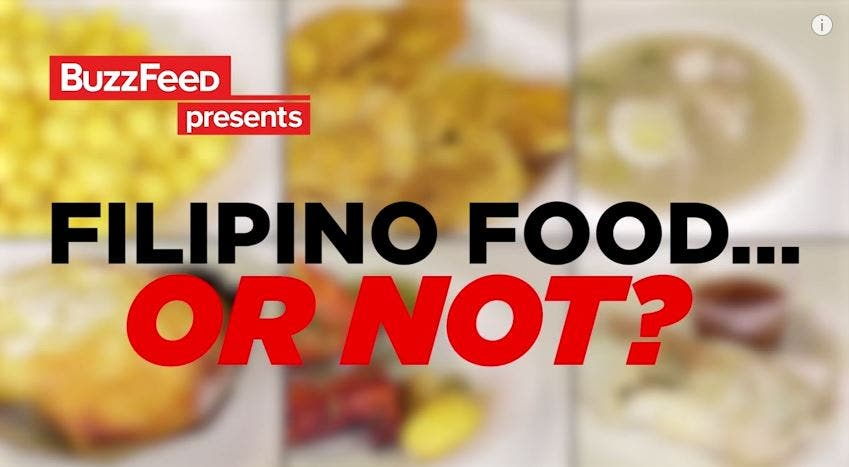 Watch These Americans Play 'Filipino Food or Not'
