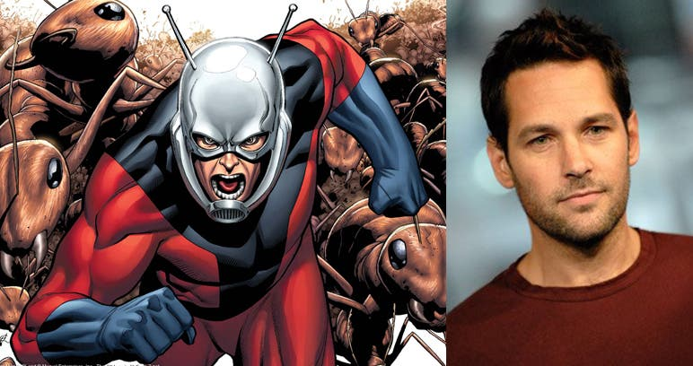 8 Comic Book Characters We Cannot Wait to See on the Big Screen Paul Rudd Ant-Man