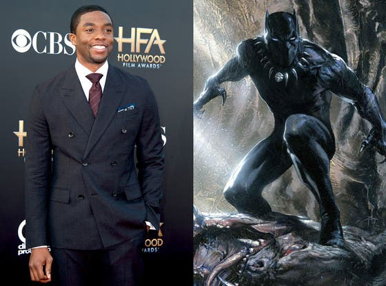 8 Comic Book Characters We Cannot Wait to See on the Big Screen Chadwick Boseman Black Panther