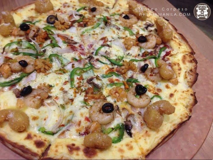 Mr. Pizza is now in Manila