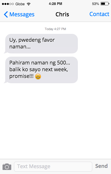 7 Palusot Texts Your Friends Send 6