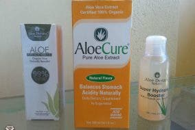 AloeCure and Aloe Derma products