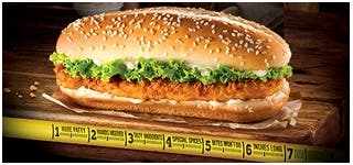 X-tra Long Things You Need in Your Life Burger King X-tra Long Chicken Burger