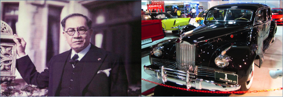 Jose Laurel Presidential Cars
