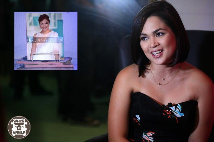 Judy Ann Santos-Agoncillo at the launch of her cookbook, 'Judy Ann's Kitchen'.