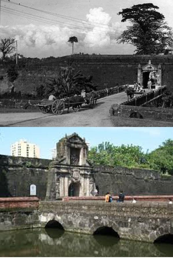 Old and new Manila_Intramuros