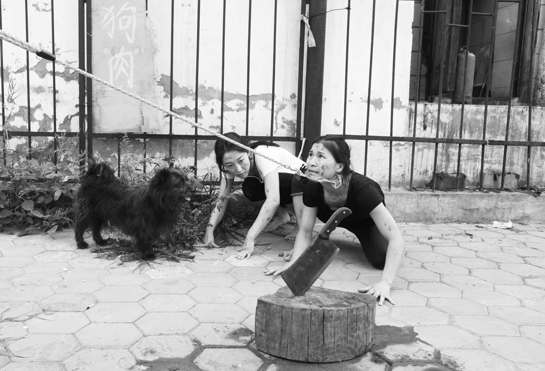 Pole-dancers-protest-animal-rights-07