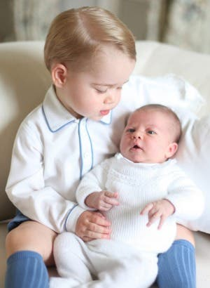 Prince George and Princess Charlotte 2
