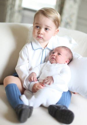 Prince George and Princess Charlotte 3