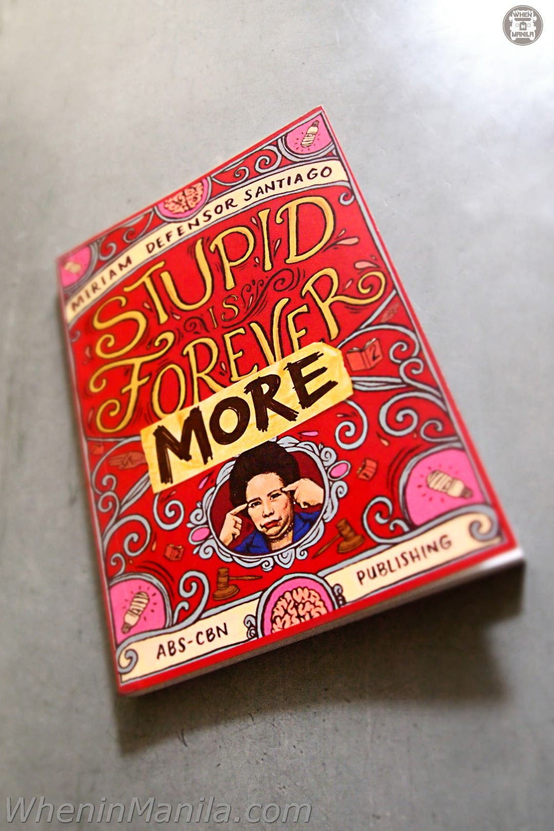 Miriam Defensor Santiago Book