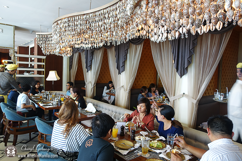 The Manila Hotel Cowrie Grill