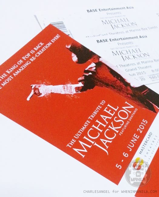 The Ultimate Tribute to Michael Jackson Review When In Manila CharlesAngel Singapore Marina Bay Sands Musical Concert WhenInManila (7)