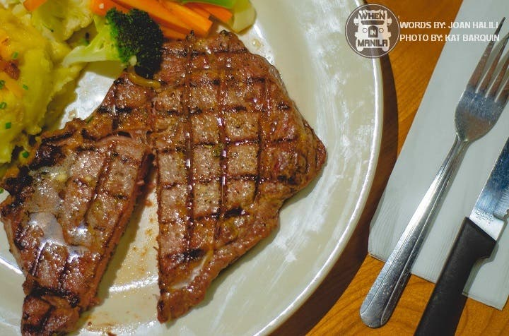 5 Worthy Steakhouses in Quezon City. Red Baron Ribs and Steaks, Vittorio's Steakhouse, Gaucho Cocina y Vinos Argentinos, Brickfire, Chili's