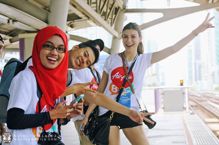 Air Asia Bloggers Conference 2015 Bangkok Thailand
