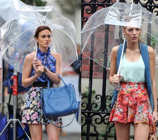 how to stay fashionably dry during rainy weather