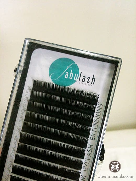 Fabulash eyelash extension