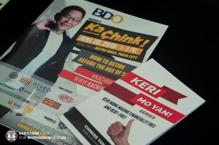5 Ways to Chink Like an Entrepreneur KaChink Financial Seminar Hugot Lines009