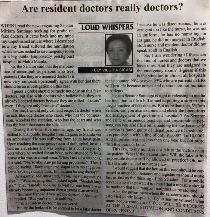 Are resident doctors really doctors Mindanao Times