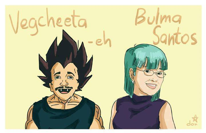 Check Out These Dragon Ball Z Characters Based on Filipino Celebrities 2