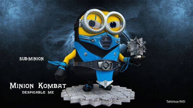 Check Out These Pop Culture Icons as Minions 11