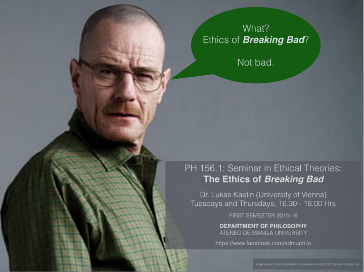 Ethics of Breaking Bad