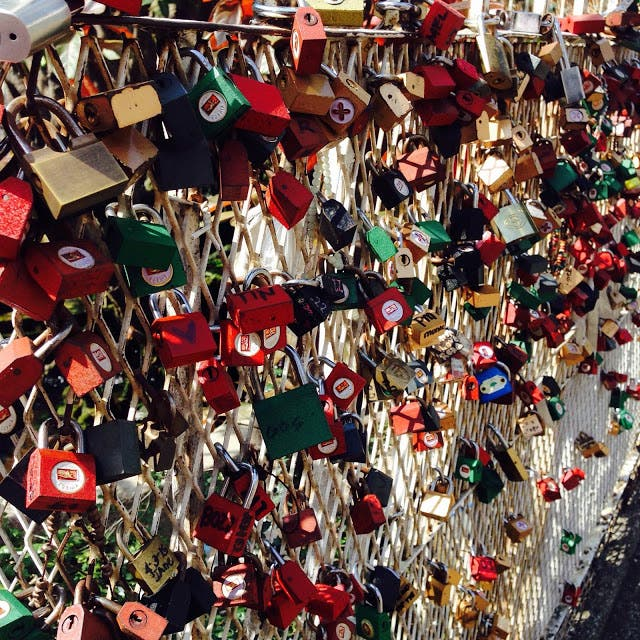 MayForever Manila Has Its Own Love Locks