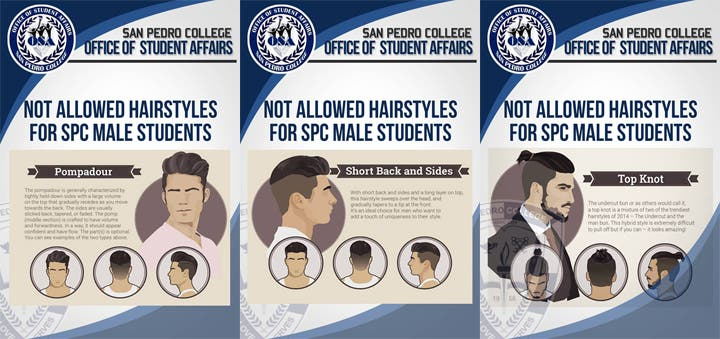 School Bans Trendy Hairstyles For Male Students When In