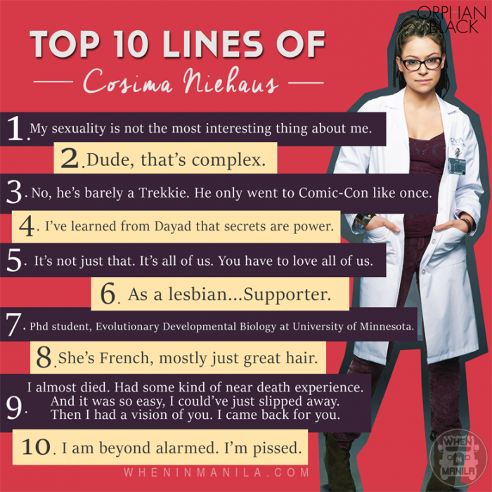 Top 10 Lines from the Clones of Orphan Black (2)