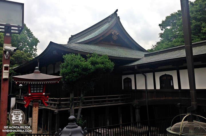 One of the temples in Ueno Koen