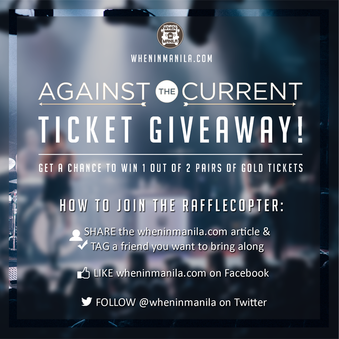 10 Reasons To Go See Against the Current in Manila (Again!) + GIVEAWAY (1)