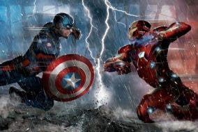 Captain America vs Iron Man Civil War Teams
