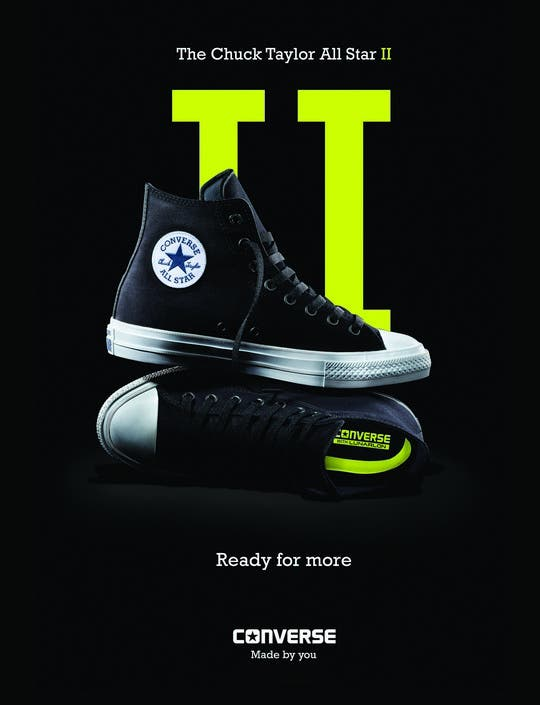 bc008cd0c76 NEW Chuck Taylor All Star 2 Now in Manila  Converse Updates Iconic ...