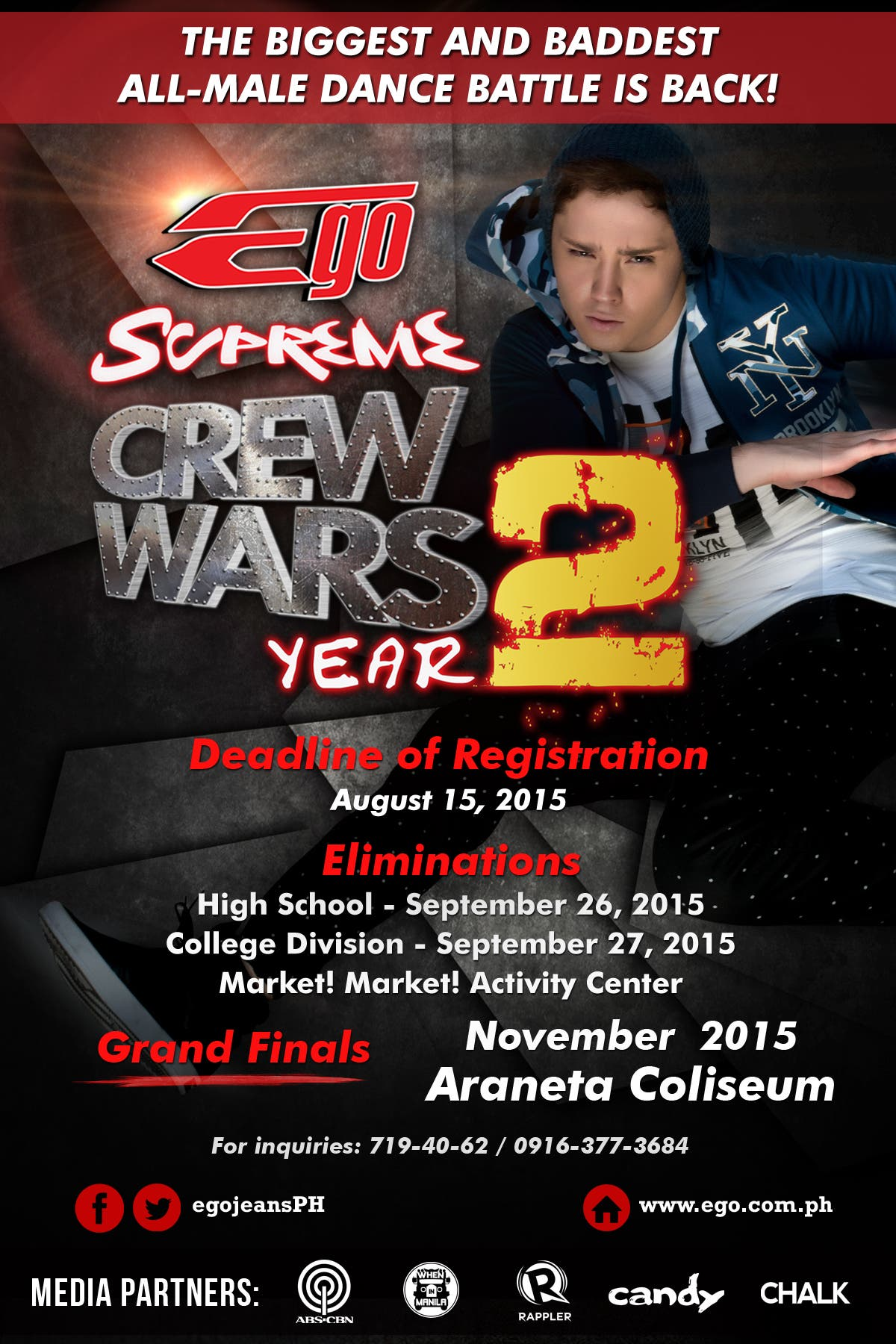 EGO Supreme Crew Wars Official Poster