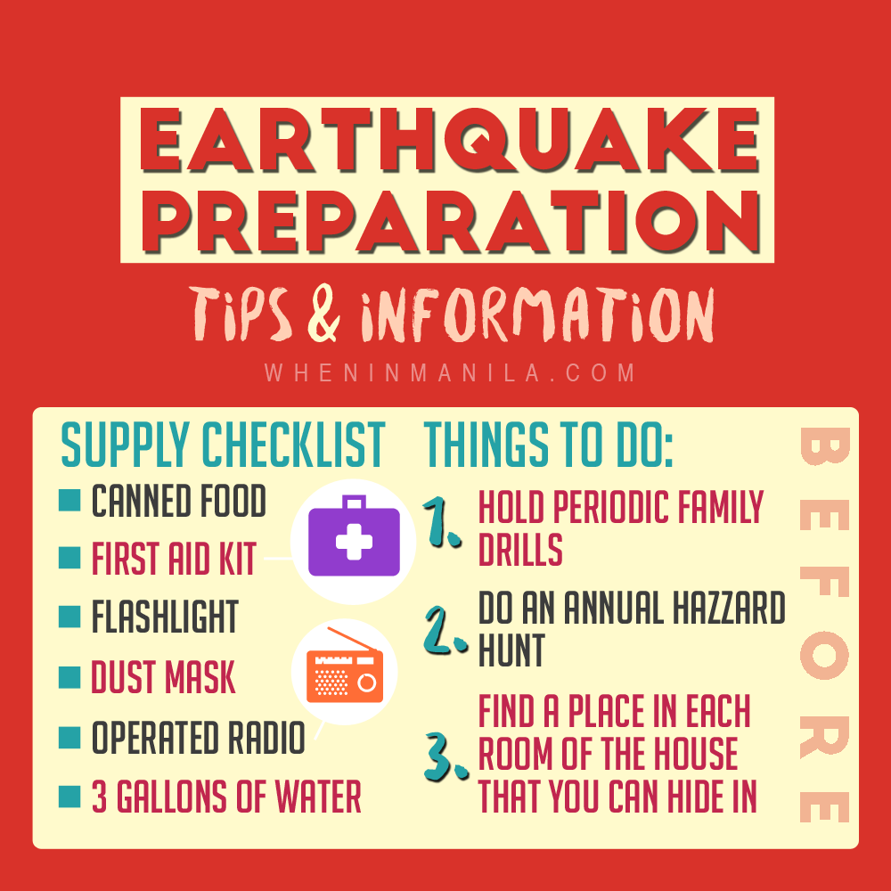 Earthquake Preparation - Tips and Information (5)