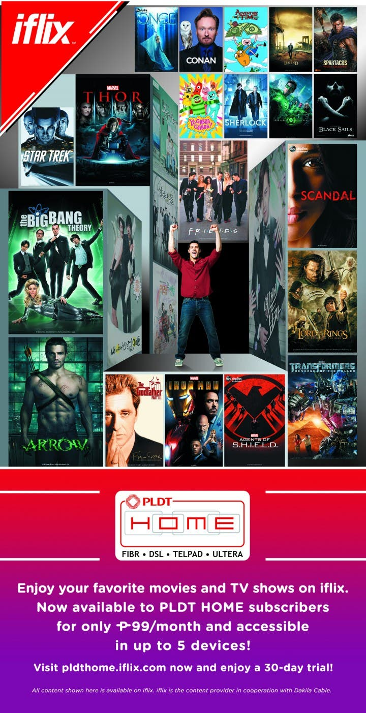 pldt home iflix family