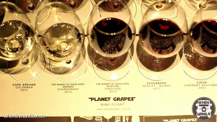 Planet Grapes: Where Filipino Street Food Meets Wine