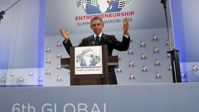 Sari Software Solutions 6th Global Entrepreneurship Summit Kenya Africa Barrack Obama