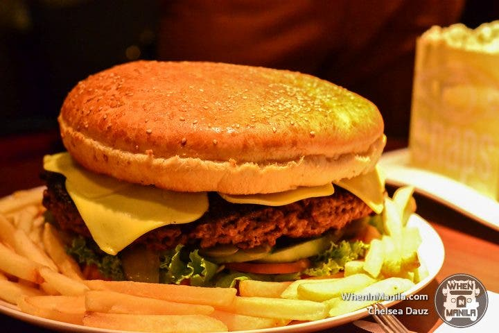 Challenge Accepted: Snaps Giant Burger