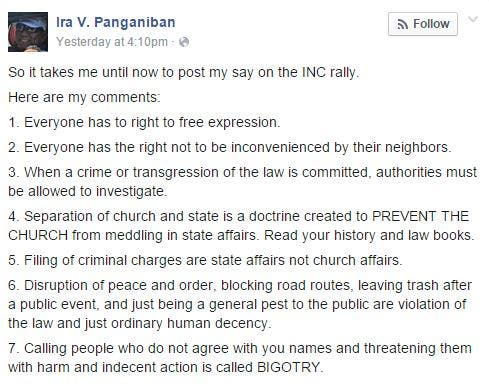 VIRAL Veteran Journalist Shares His Thoughts on the INC Rally