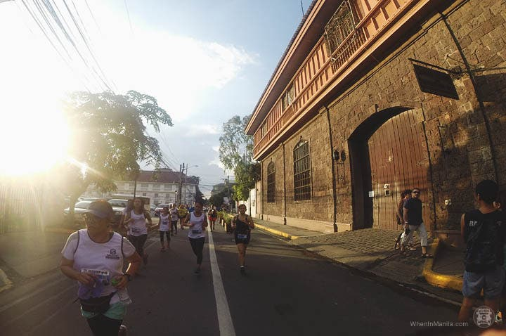 Salomon City Trail Intramuros run